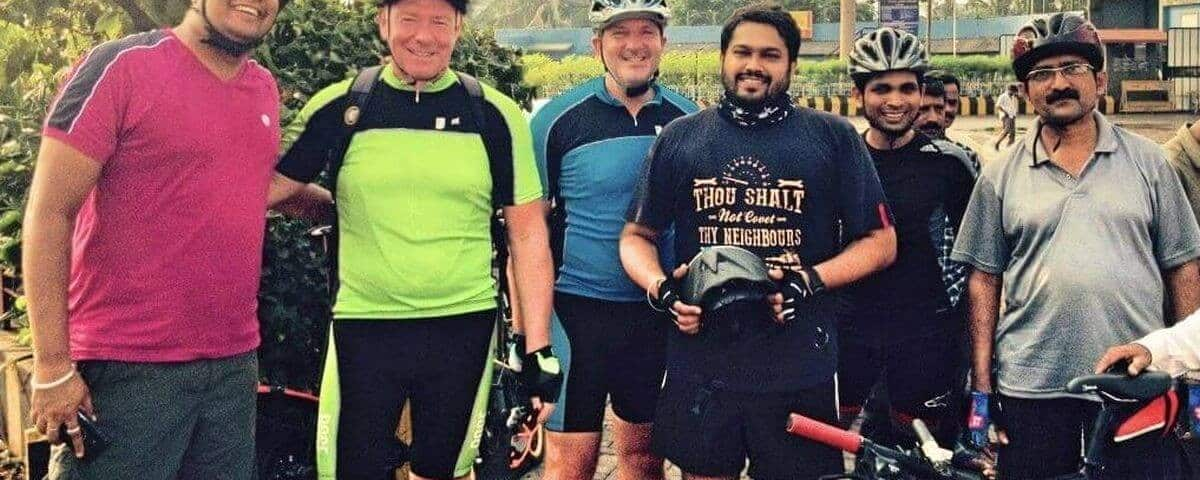 German cyclists Visit to Mangaluru