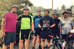 German cyclists Visit to Mangaluru