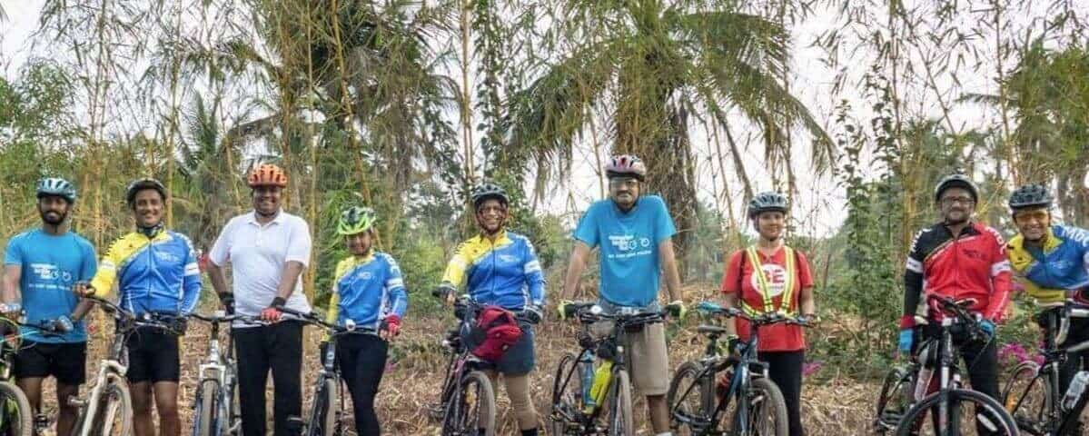 A tryst with Nature: Group ride to Thank God