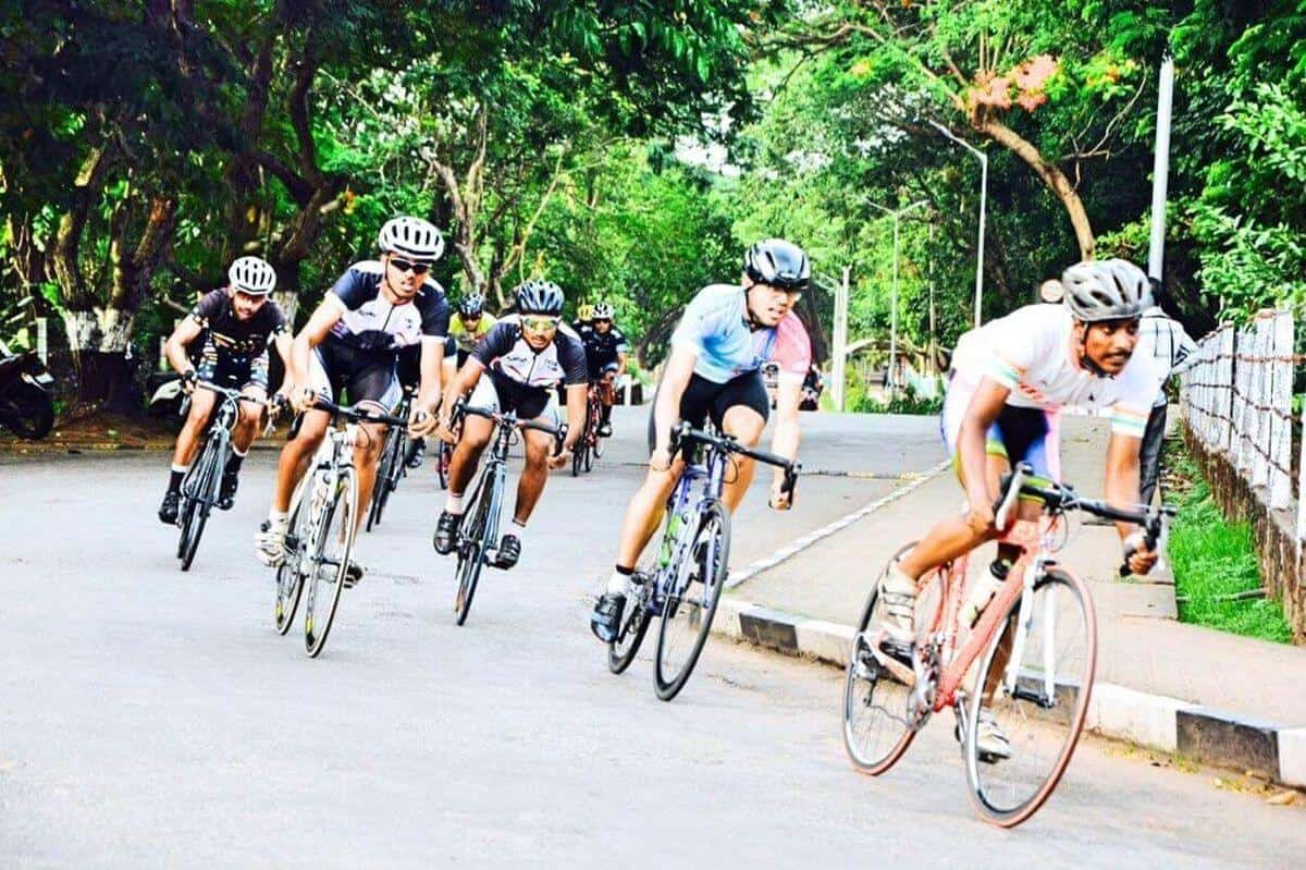 Participation in Udupi cyclothon 2016