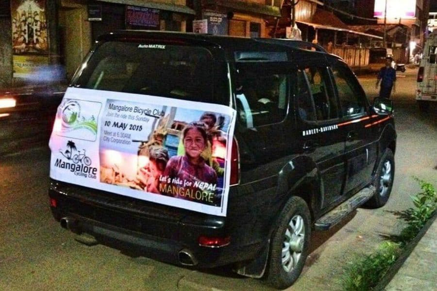 Fund Raiser Ride for Nepal Rehabilitation