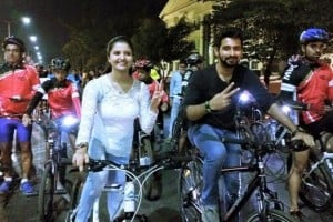 Launch of Night Ride in Mangalore