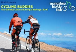 MbC Cycling Buddies- Ultimate Calorie Burning Challenge 2016
