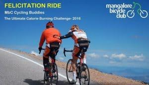 Felicitation Ride - MBC Cycling Buddies