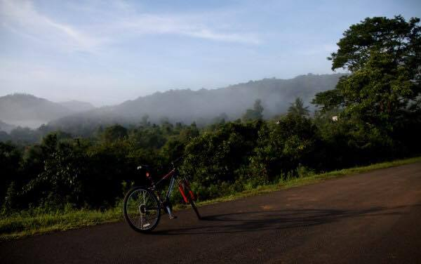 MbC ride to Bhagamandala
