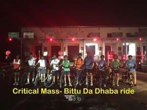 MbC Critical Mass- Bittu Da Dhaba ride