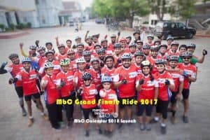 MbC Grand Finale Ride 2017 & MbC Calendar 2018 Launch