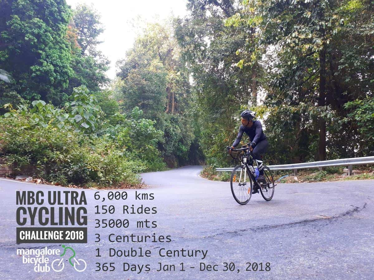 MbC Ultra Cycling challenge 2018