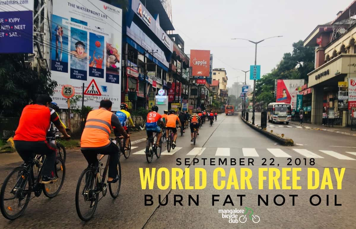 World Car Free Day Group Ride
